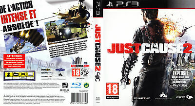 JUST CAUSE 2 Sony PlayStation 3 / PS3 Spiele USK18 NEAR MINT, GER, TOP SHIPPING!