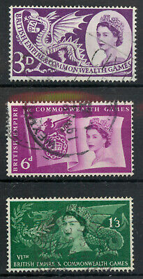 Great Britain GB 1958 British Empire Commonwealth Games used *COMBINED SHIPPING*