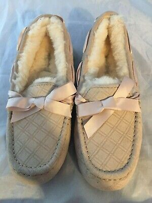0b6d31e8657 UGG DAKOTA DOUBLE Diamond Suede/Sheepskion Women Slippers 1015598 ...