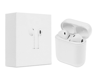 NEW Premium For Apple Style TWS Wireless Earbuds w/Charging Case Headphones