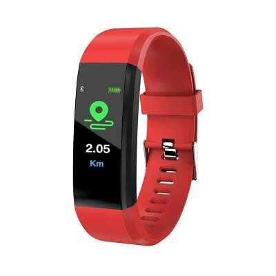 Bluetooth Smart Bracelet Fitbit Style Heart Rate Monitor Watch Pedometer