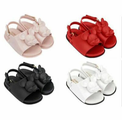 da18a7d8d Girl s Mini Melissa Summer Sandals Mickey Jelly Girl Baby Princess Shoes