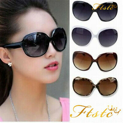 Lot Womens Fashion Polarized Sunglasses Oversized Retro Designer Eyewear Shades