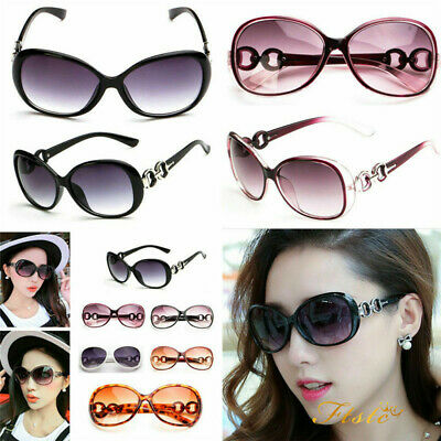 Lot Vintage Designer Oversized Sunglasses Womens Retro Polarized Eyewear Glasses