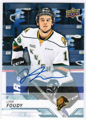 18/19 2018 UD UPPER DECK CHL HOCKEY AUTOGRAPH AUTO CARDS #1-400 U-Pick From List