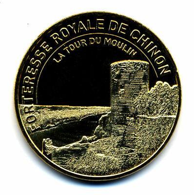 37 CHINON Forteresse royale 5, La Tour du Moulin, 2019, Monnaie de Paris