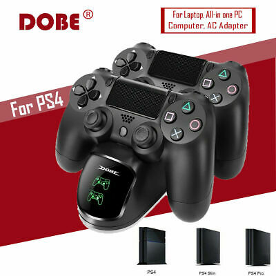 Dobe Ps4 Dual Controller Fast Charger Charging Dock Station Dualshock Gamepad Au