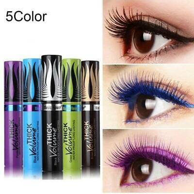 4D Silk Fiber Lash Colorful Mascara Eyelashes Long Extension Waterproof Make Up