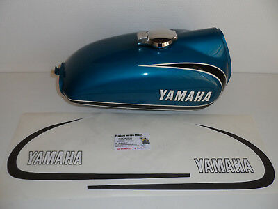125 At2  Yamaha  Kit D'emblemes Compatible Pour Reservoir