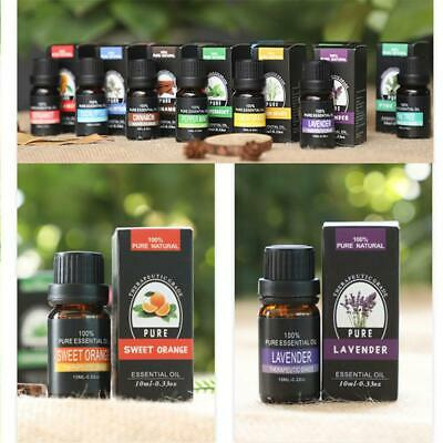 10ml Essential Oil Pure & Natural Aromatherapy For Diffuser-Choose Fragrance Set