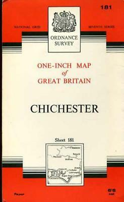 Ordnance Survey  One-Inch Map of Great Britain Sheet 181 Chichester, Anon