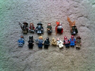 Lego Film Mini Figures - Marvel  Lord of the Rings DC Comics