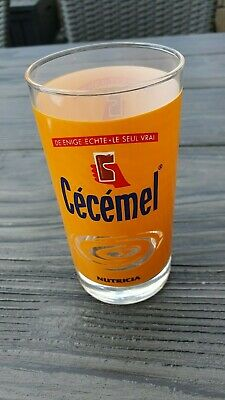 1 glass cecemel collectebel item