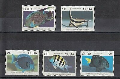 Timbre Stamp  5 Caraibes Y&T#3198-202 Poisson Fish Neuf**/Mnh-Mint 1992 ~C84