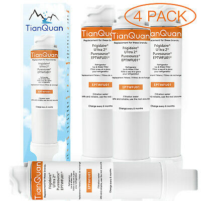 Frigidaire EPTWFU01 PureSource Ultra II Compatible Water Filter 1~2~3~4 Pack