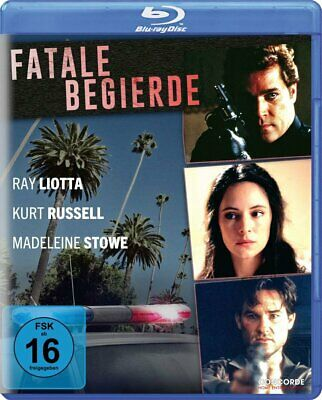Unlawful Entry Kurt Russell, Ray Liotta, Madeleine Stowe blu-ray B New Sealed