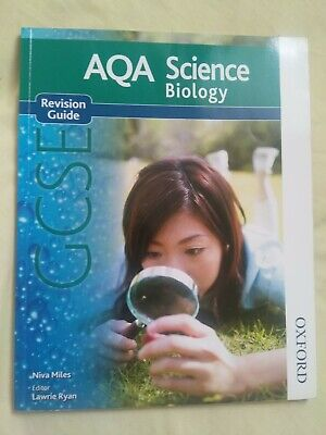 AQA Science GCSE Biology Revision Guide by Niva Miles (Oxford University Press)
