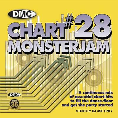 DMC Chart Monsterjam Vol 28 DJ CD - Hits from April 2019 Continuous Mix