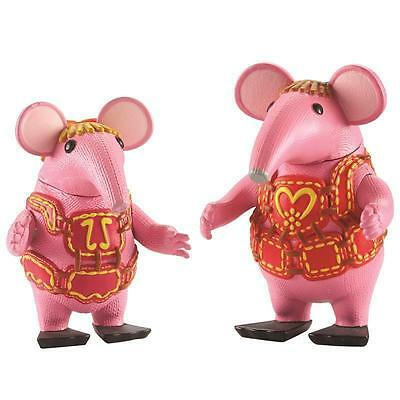 The Clangers Figure Set - Tiny And Mother Clanger Brand New In Box