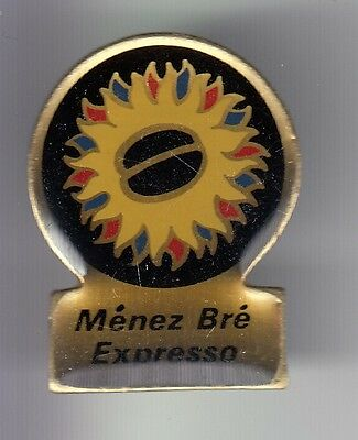 Rare Pins Pin's .. Aliment Food Cafe Coffee Bretagne Menez Bre Expresso 22 ~Di