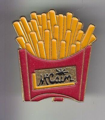 Rare Pins Pin's ..  Aliment Food Marque Mc Cain France Portion Frites Fries ~Dq