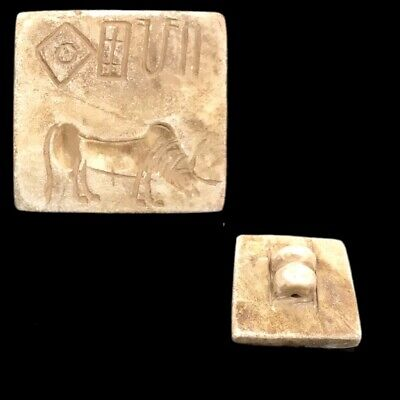 Indus Valley Seal Stamp 2000 B.c. Bronze Age (2)