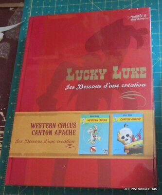 Luky Luke ~ Les Dessous D' Une Creation / Western Circus & Canyon Apache ~ Neuf