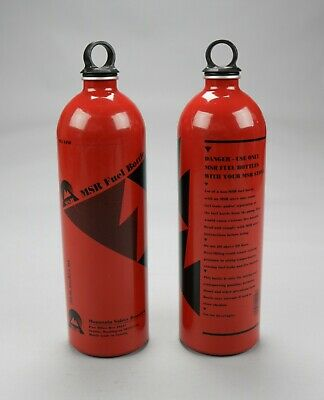 MSR Fuel Bottle Unisex Camping Backcountry Cooking New Other