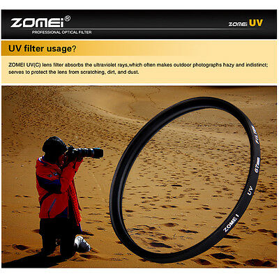 HOT SELL Zomei 77mm Ultra-Violet UV Filter Lens Protector for Canon Nikon camera