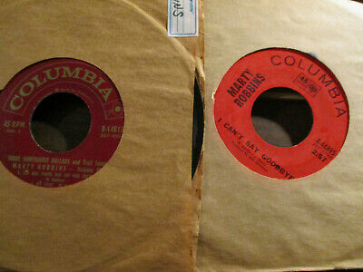 Marty Robbins - 1EP + 1 45     More Gunfighter Ballads ep + I can't say Goodbye