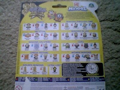 Despicable Me  Minions Mineez Figures - Complete Your Collection