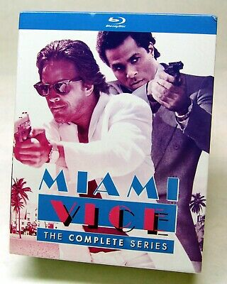 Miami Vice: The Complete Series (Blu-ray Disc, 2016, 20-Disc Set) - SEALED