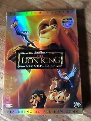 The Lion King (2-Disc Special-Platinum Edition) DVD New