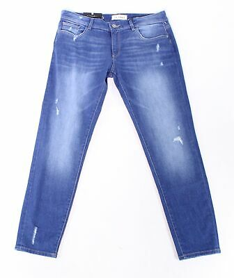 21e8b308 DL1961 NEW Blue Women's Size 29X30 Stretch Relaxed Skinny Jeans $198 #671
