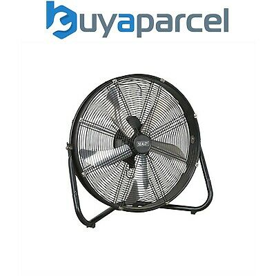 Sealey HVF20 Industriel Haut Velocity 3 Vitesses 20Inch Sol Ventilateur