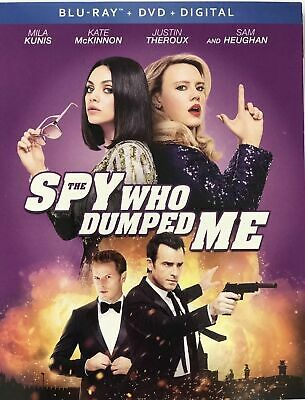 The Spy Who Dumped Me (Blu-ray + DVD + Digital 2018 2-Disc Set) Brand New Sealed