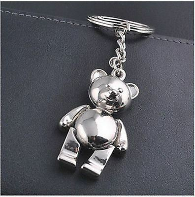 Bear Fashion metal key chain ring Keychain creative Keychain Gift