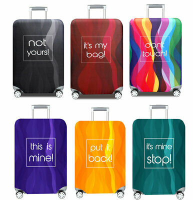 """18""""-32"""" Luggage Protector Cover Travel Elastic Trolley Case Dustproof Covers Bag"""