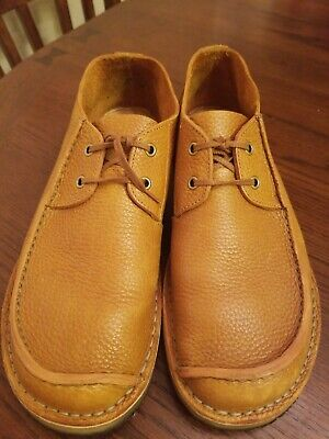 624e9c8a9f20 Clarks Originals Men s Seam Trek Tan Leather Casual Oxford sz 12 Shoes  26113254