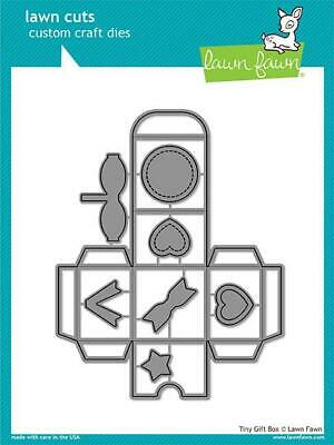 Lawn Fawn, lawn cuts/ Stanzschablone, tiny gift box