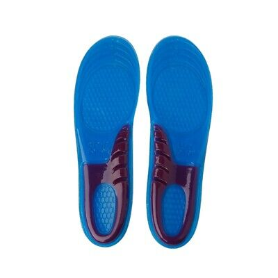 Women Men Silicone Gel Orthotic Arch Massaging Support Sport Shoe Insole Run Pad