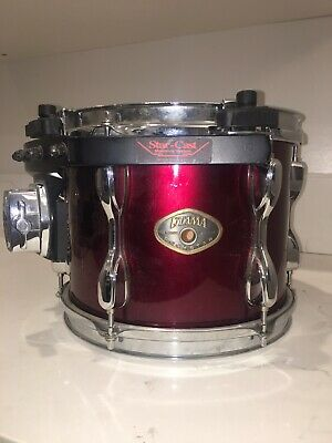 "TAMA 8"" X 10"" Tom Drum With Star Cast Mount: Very Good Condition"