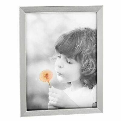 Classic Antique Silver Effect Wooden Photo Frame 5 x 7