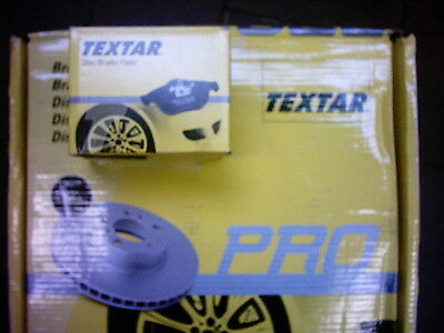Textar Brake Discs and Pads Boxer, Ducato, Jumper Rear Seat Nl1600kg / Hard