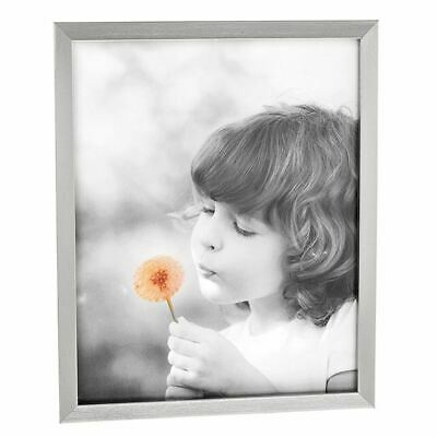 Classic Antique Silver Effect Wooden Photo Frame 8 x 10