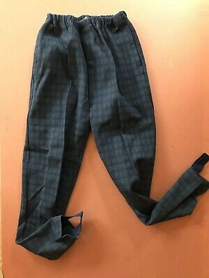 Vtg 60s NOS Retro Classic French Trousers Stretch Jodhpurs Prop TV Film