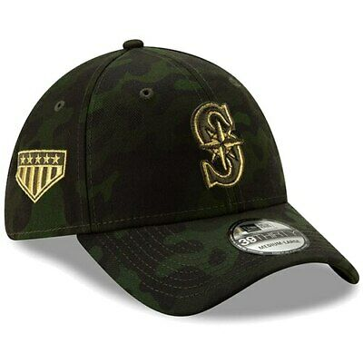 pretty nice 95906 c676a Seattle Mariners New Era 2019 MLB Armed Forces Day 39THIRTY Flex Hat - Camo