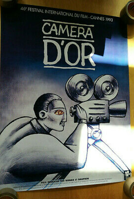 Cinema Affiche Du Festival De Cannes 1993 Pour La Camera D'or