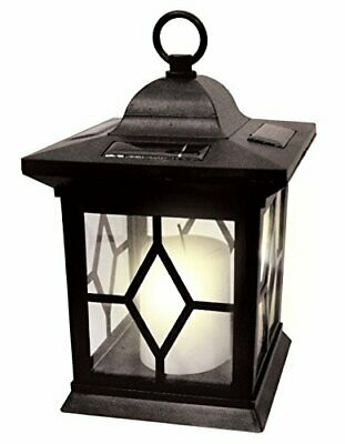 Solar Memorial Lantern Grave Light Mum Dad Brother Sister Nanna with Crook