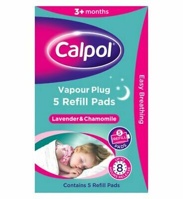 Calpol Soothe & Care Vapour Night Plug In Refill Pads Cold, Nasal block Variety